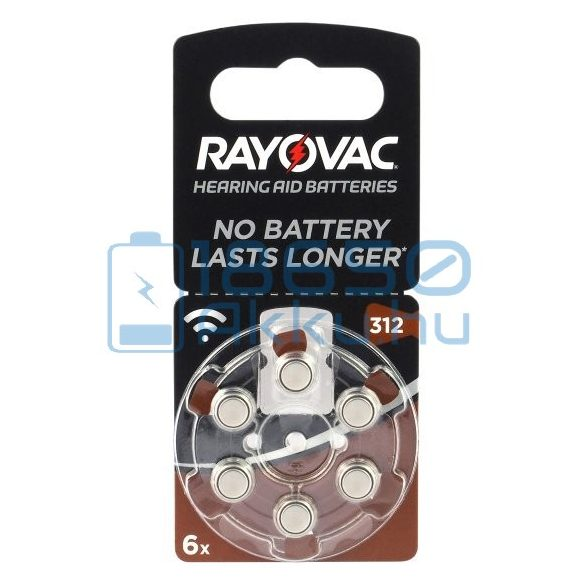 Rayovac Acoustic Special 312 Hallókészülék Elem