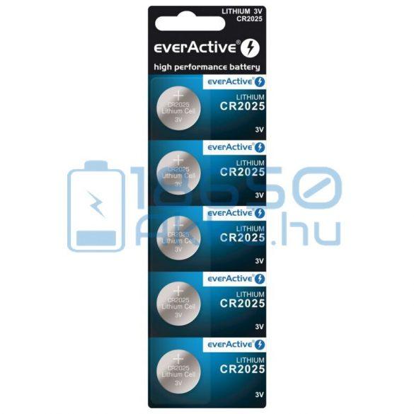 EverActive CR2025 Lítium Gombelem (5db)