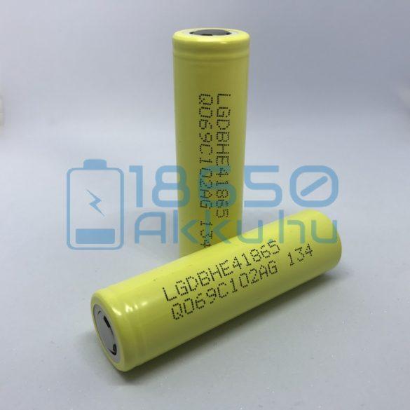 LG HE4 - LG ICR18650-HE4 - LGDBHE41865