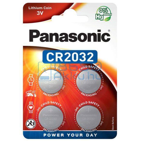 Panasonic CR2032 Lítium Gombelem (4db)