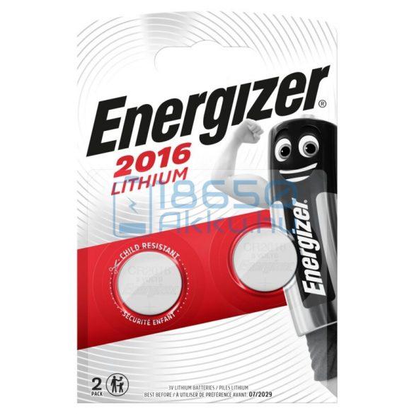 Energizer CR2016 Lítium Gombelem (2db)