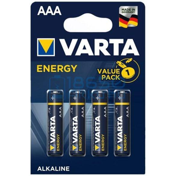 Varta Energy Alkáli Tartós (AAA / LR03) Mikro Elem (4db)