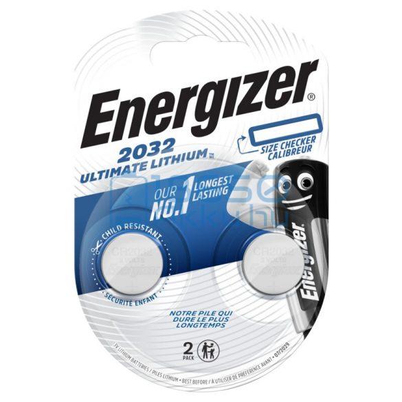 Energizer CR2032 Ultimate Lítium Gombelem (2db)