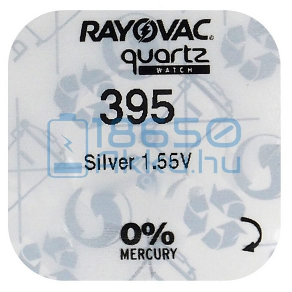Rayovac 395 Ezüst-Oxid Gombelem