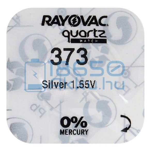 Rayovac 373 Ezüst-Oxid Gombelem