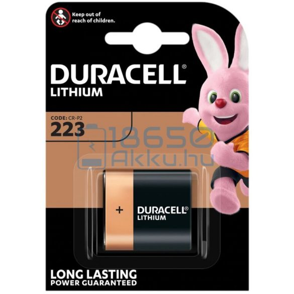 Duracell CRP2 / 223 6V Lítium Elem
