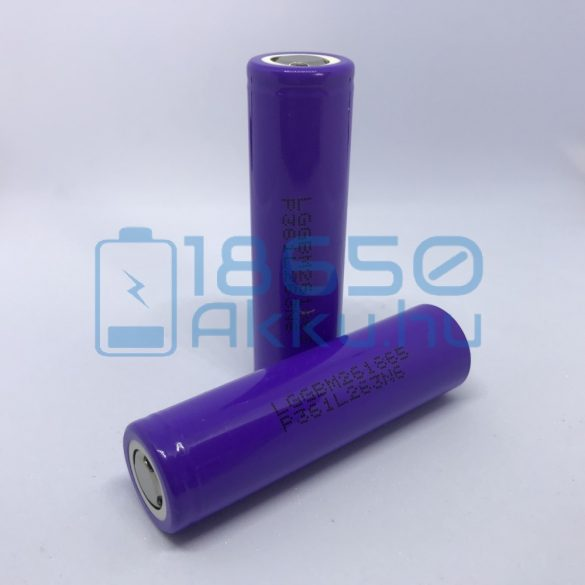 LG M26 - LG INR18650-M26 - LGGBM261865