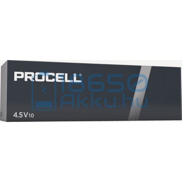 Duracell Procell Alkáli Tartós (3LR12) 4,5V Laposelem (10db)