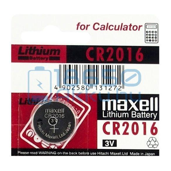 Maxell CR2016 Lítium Gombelem