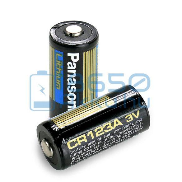 Panasonic CR123 Industrial Lítium Elem