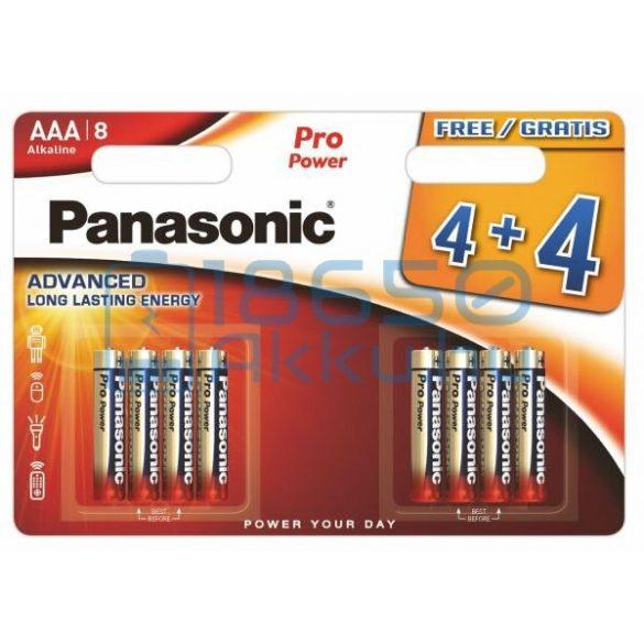Panasonic Pro Power Alkáli Tartós (AAA / LR03) Mikro Elem (8db)
