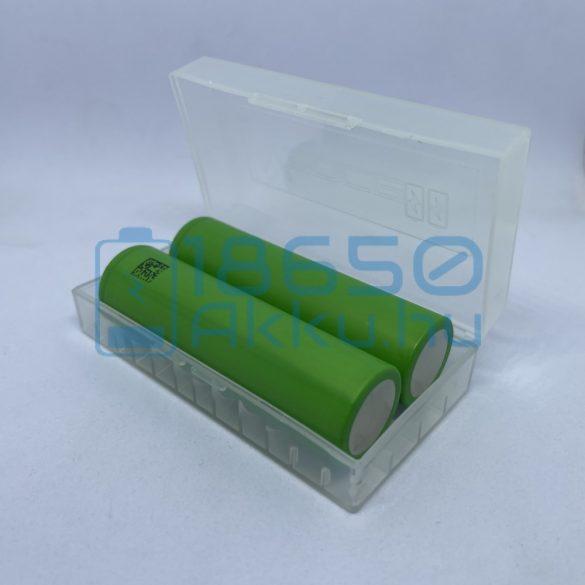 Vapcell 2 db x 18650 akku/akkumulátor tartó/tároló tok/doboz