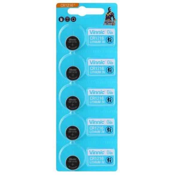 Vinnic CR1216 Lítium Gombelem
