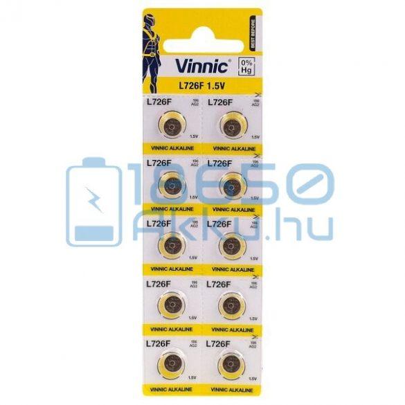 Vinnic AG2 / L726F Alkáli Gombelem