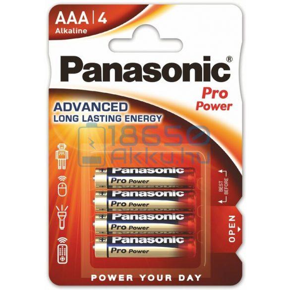 Panasonic Pro Power Alkáli Tartós (AAA / LR03) Mikro Elem (4db)