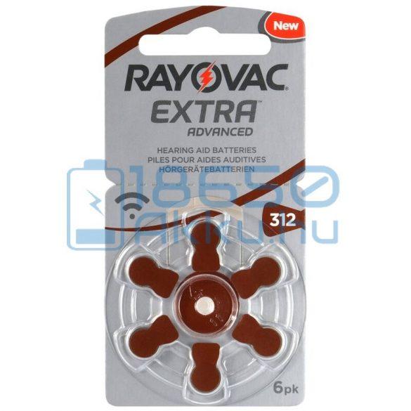 Rayovac Extra Advanced 312 Hallókészülék Elem