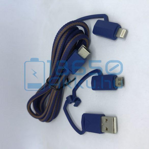 XTAR PDC-3 Univerzális töltő kábel Kék