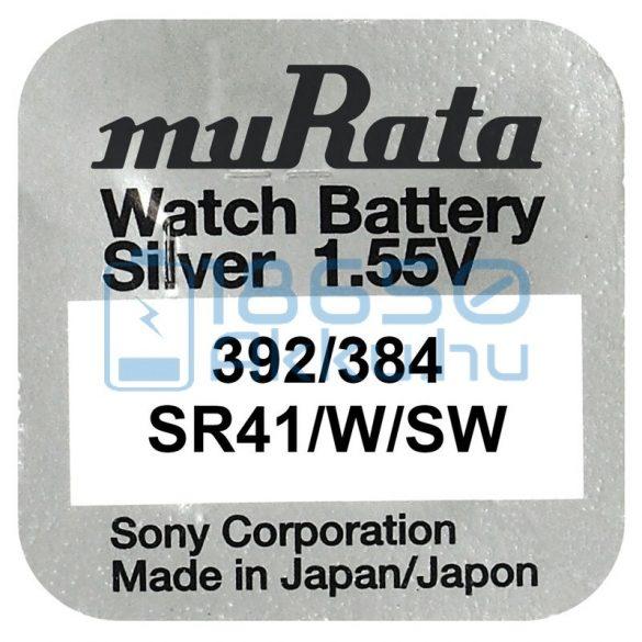 Murata 384/392 / SR41W/SW Ezüst-Oxid Gombelem