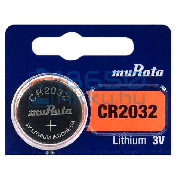 Murata CR2032 Lítium Gombelem