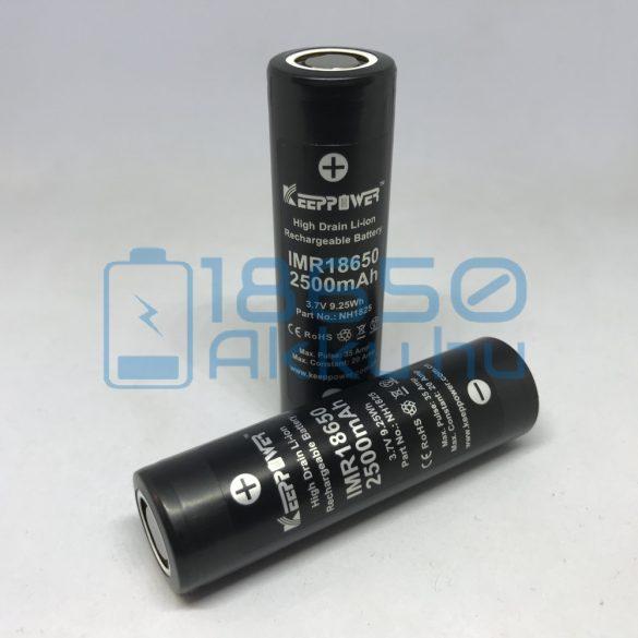 KeepPower IMR18650 2500mAh 20A