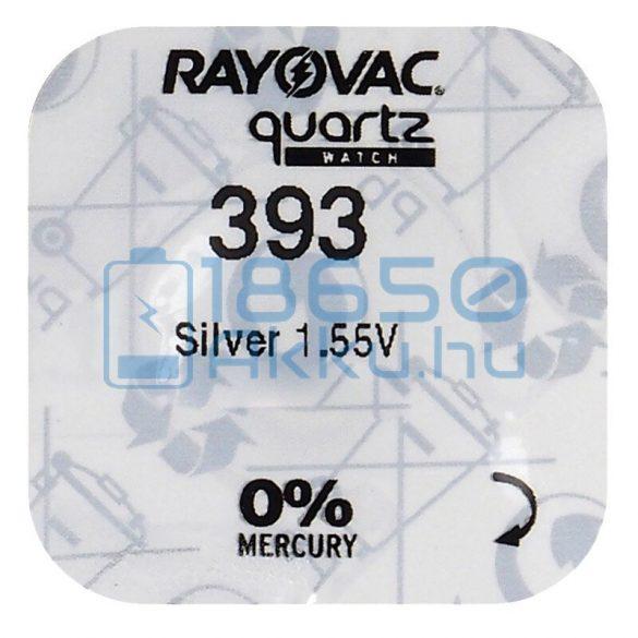Rayovac 393 Ezüst-Oxid Gombelem