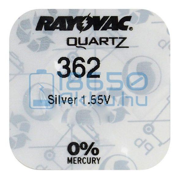 Rayovac 362 Ezüst-Oxid Gombelem