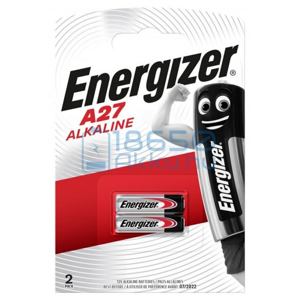 Energizer 27A / MN27 12V Alkáli Elem (2db)