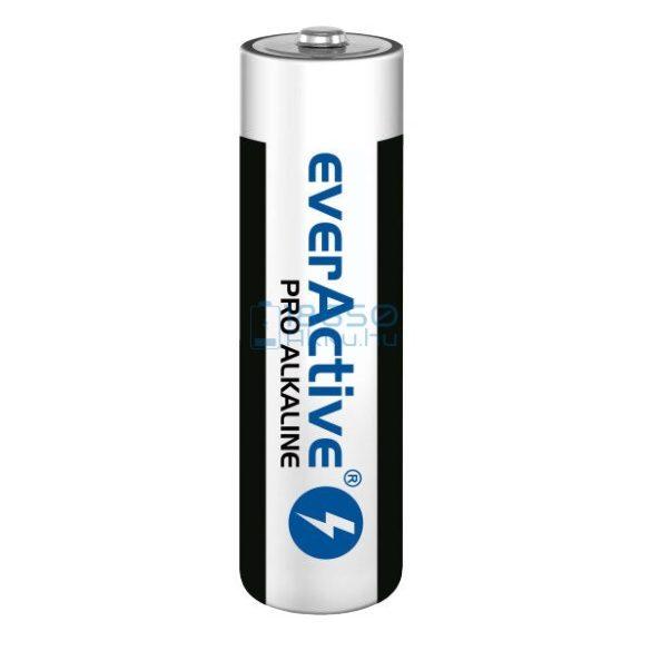 EverActive Pro Alkáli Tartós (AA / LR6) Ceruza Elem (4db) (fóliás)