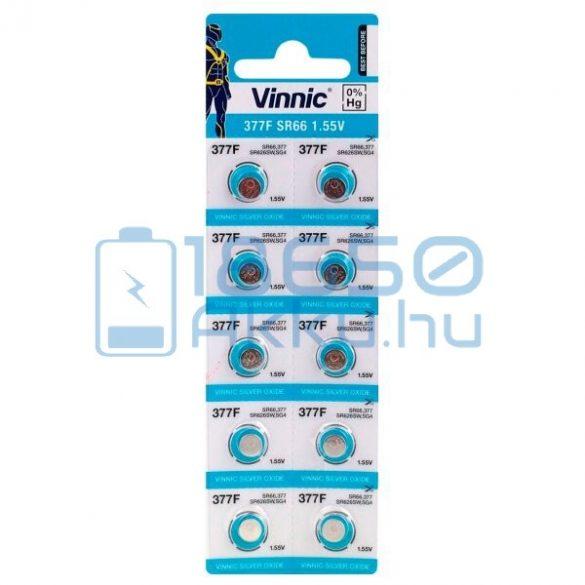 Vinnic 377 / SR66 Ezüst-Oxid Gombelem