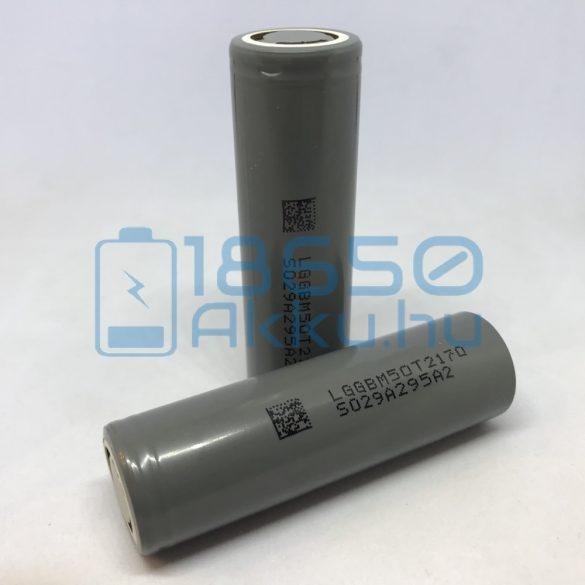 LG INR21700-M50T 5000mAh 7,3A Akkumulátor