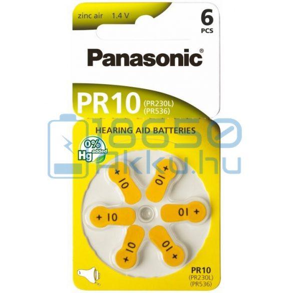 Panasonic 10 / PR230L/PR536 Hallókészülék Elem