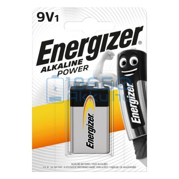 Energizer Alkaline Power 6LR61 9V Alkáli Elem