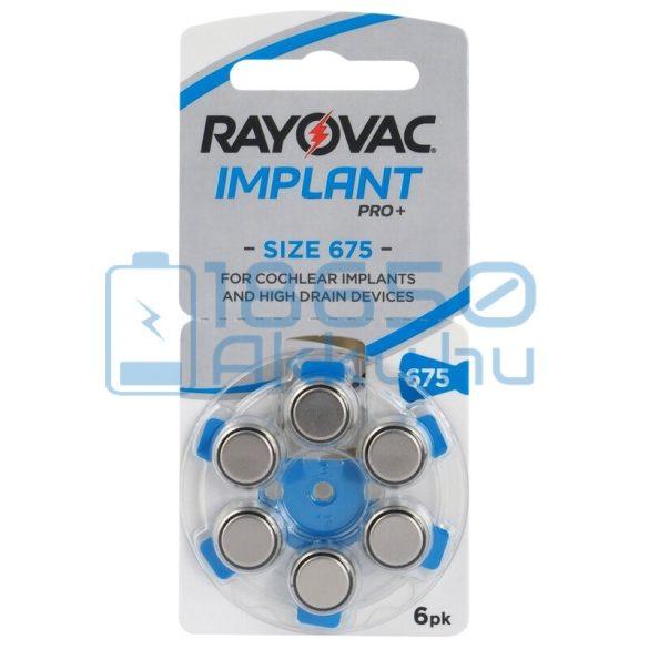 Rayovac Extra Implant Pro+ 675 Hallókészülék Elem
