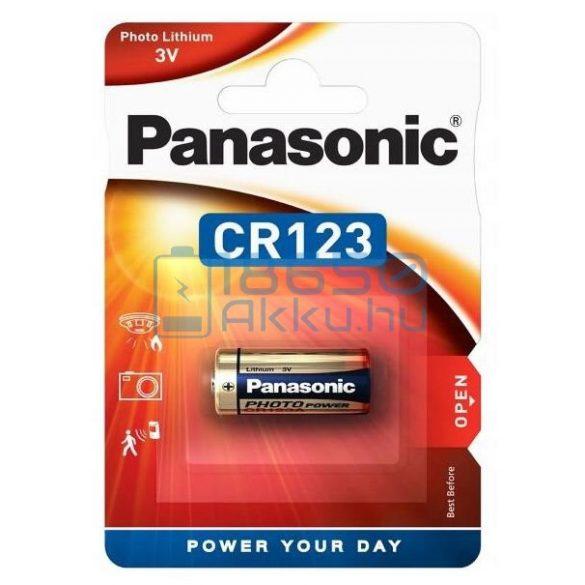 Panasonic CR123 Lítium Elem