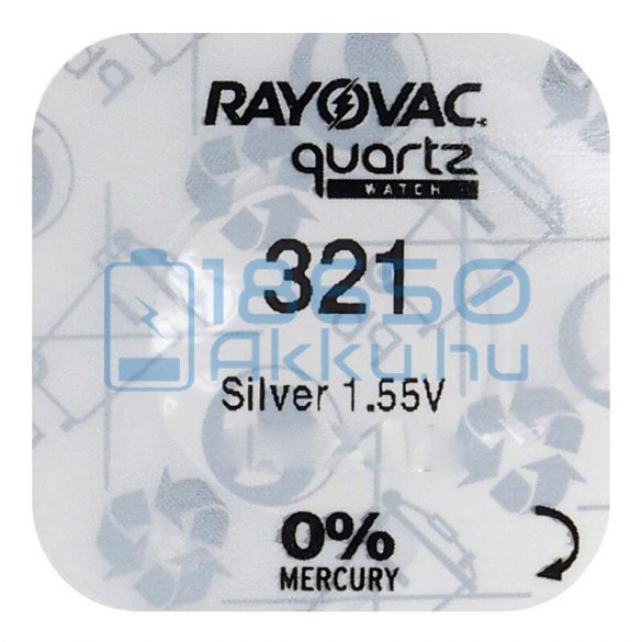 Rayovac 321 Ezüst-Oxid Gombelem