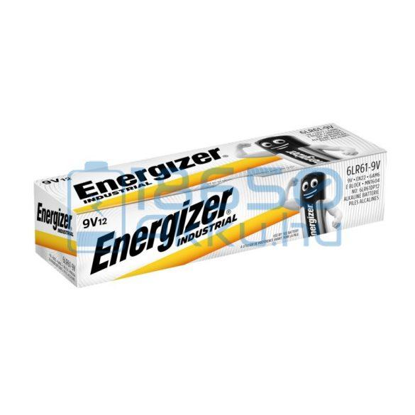 Energizer Industrial 6LR61 9V Alkáli Elem (12db)