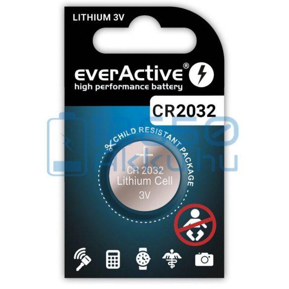 EverActive CR2032 Lítium Gombelem