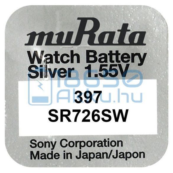 Murata 397 / SR726SW Ezüst-Oxid Gombelem