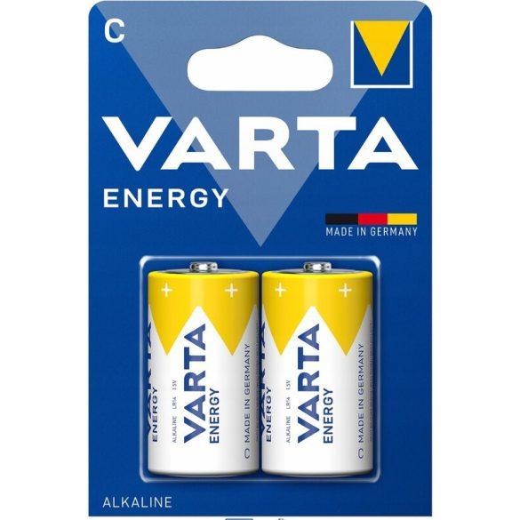 Varta Energy Alkáli Tartós (C / LR14) Baby Elem (2db)
