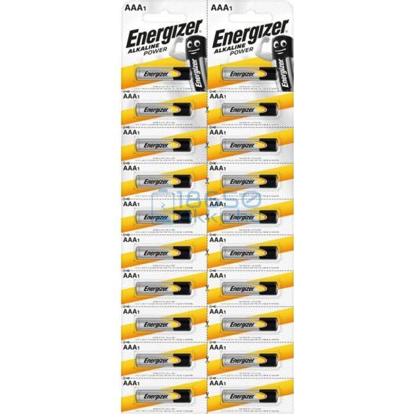Energizer Alkaline Power Alkáli Tartós (AAA / LR03) Mikro Elem (1db)