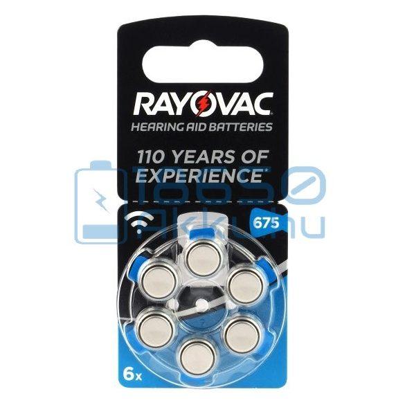 Rayovac Acoustic Special 675 Hallókészülék Elem