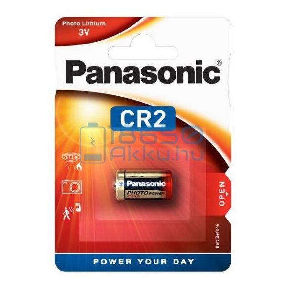 Panasonic CR2 Lítium Elem