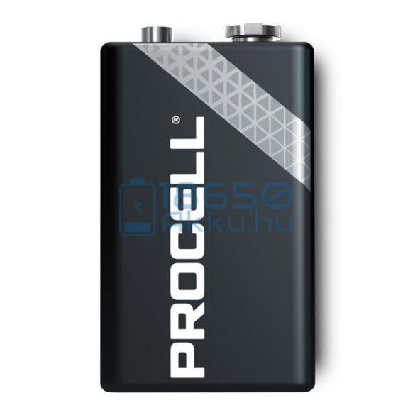Duracell Procell 6LR61 / MN1604 9V Alkáli Elem (10db)