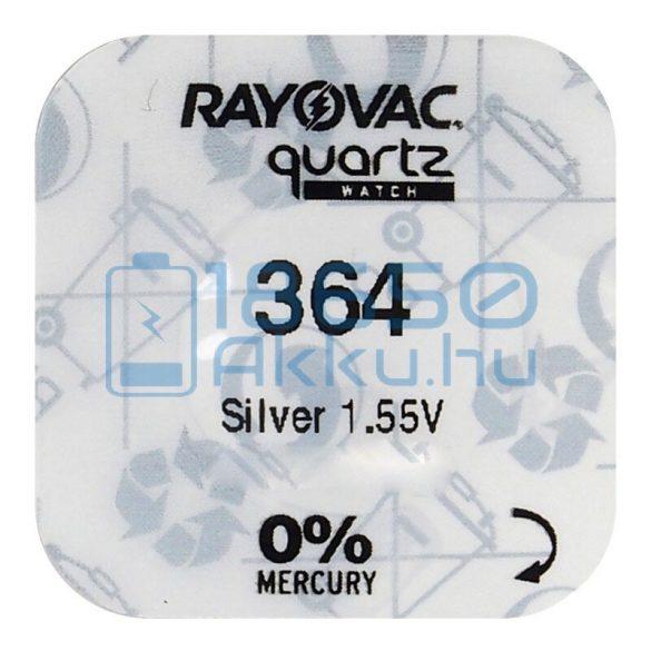 Rayovac 364 Ezüst-Oxid Gombelem