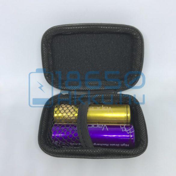 Vapcell 2 db x 20700/21700 akku/akkumulátor tartó/tároló tok/doboz