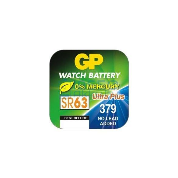 GP 379 / SR63 Ezüst-Oxid Gombelem