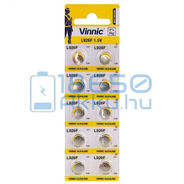 Vinnic AG7 / L926F Alkáli Gombelem
