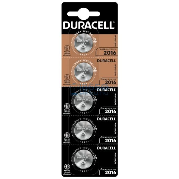 Duracell CR2016 Lítium Gombelem