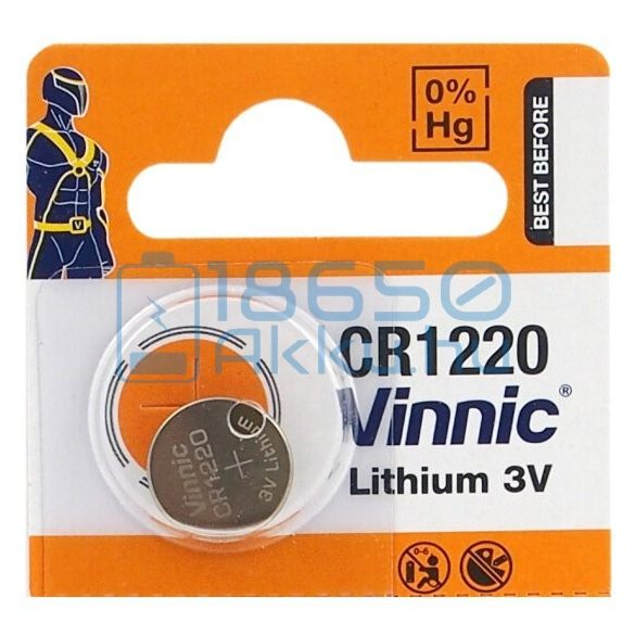 Vinnic CR1220 Lítium Gombelem