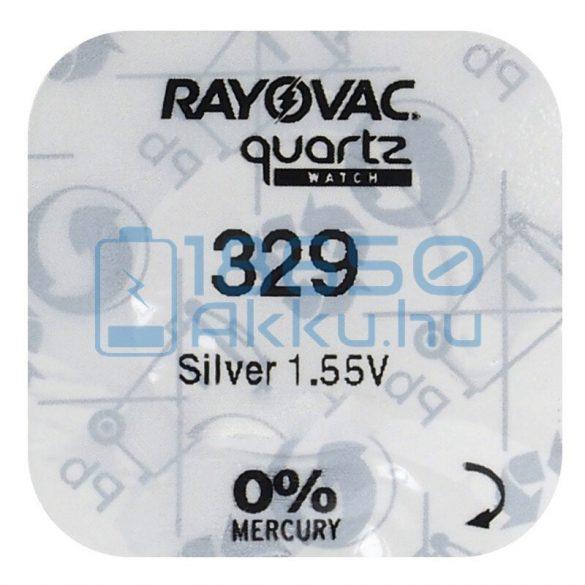 Rayovac 329 Ezüst-Oxid Gombelem